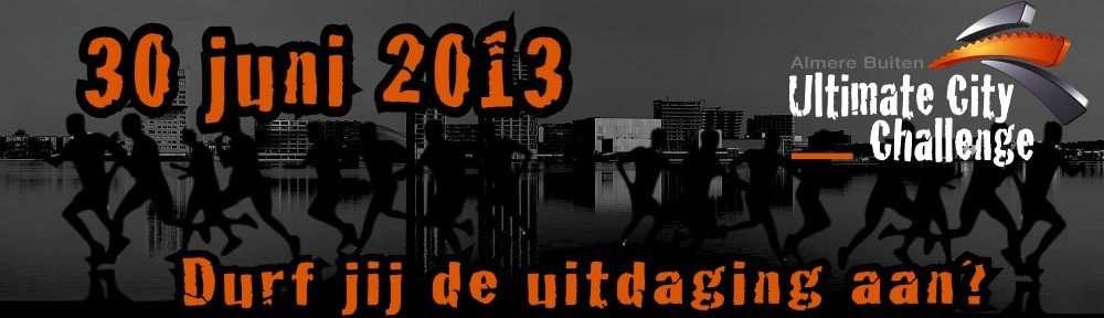 Ultimate City Challenge Almere 2013