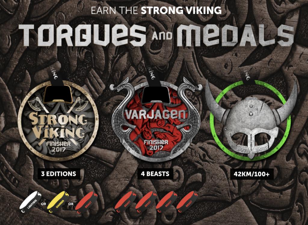 Strong Viking Medailles