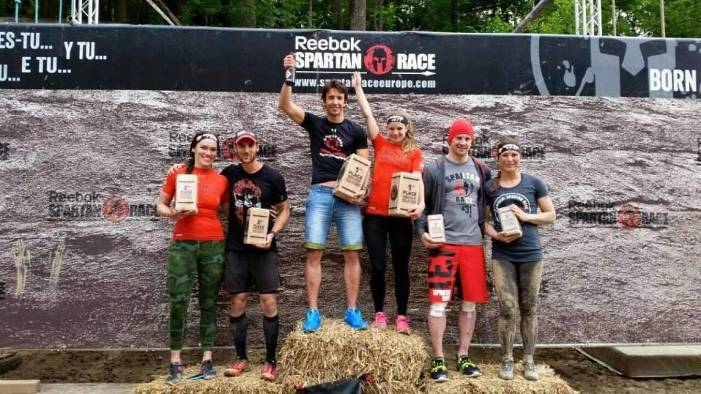 Spartan Race Podium Prijzengeld