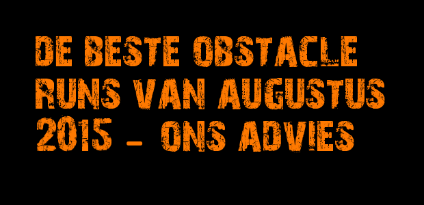 Beste obstacle runs augustus 2015