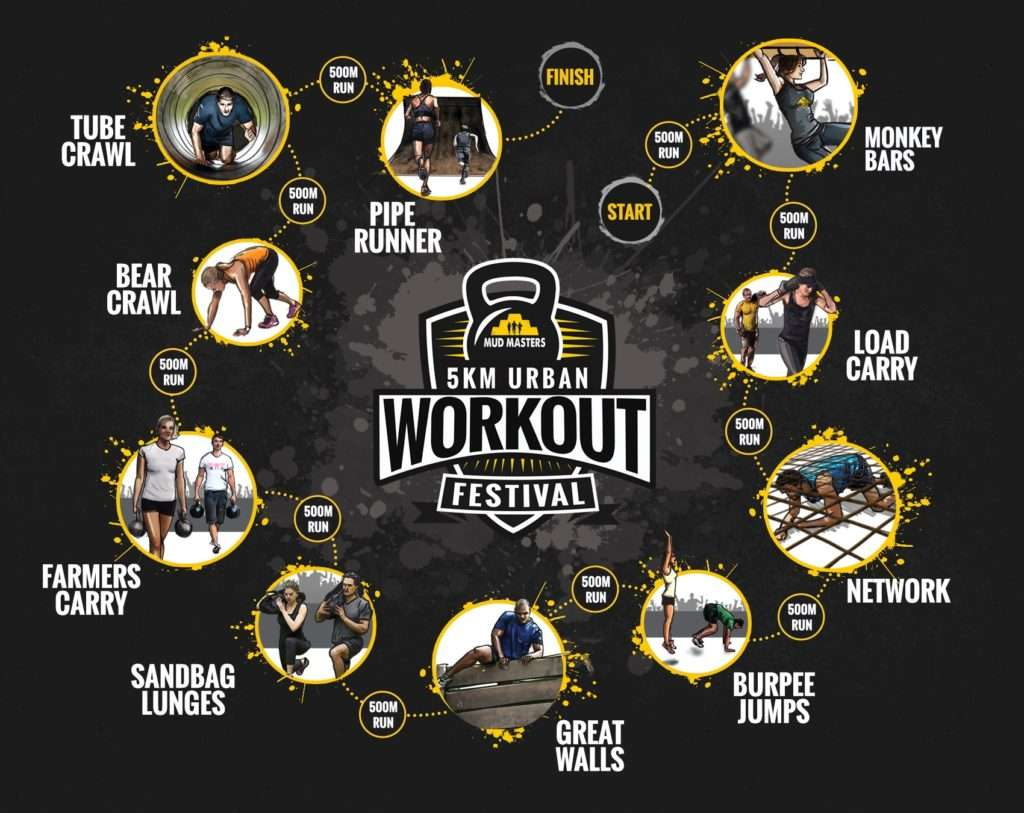 5KM URBAN WORKOUT FESTIVAL