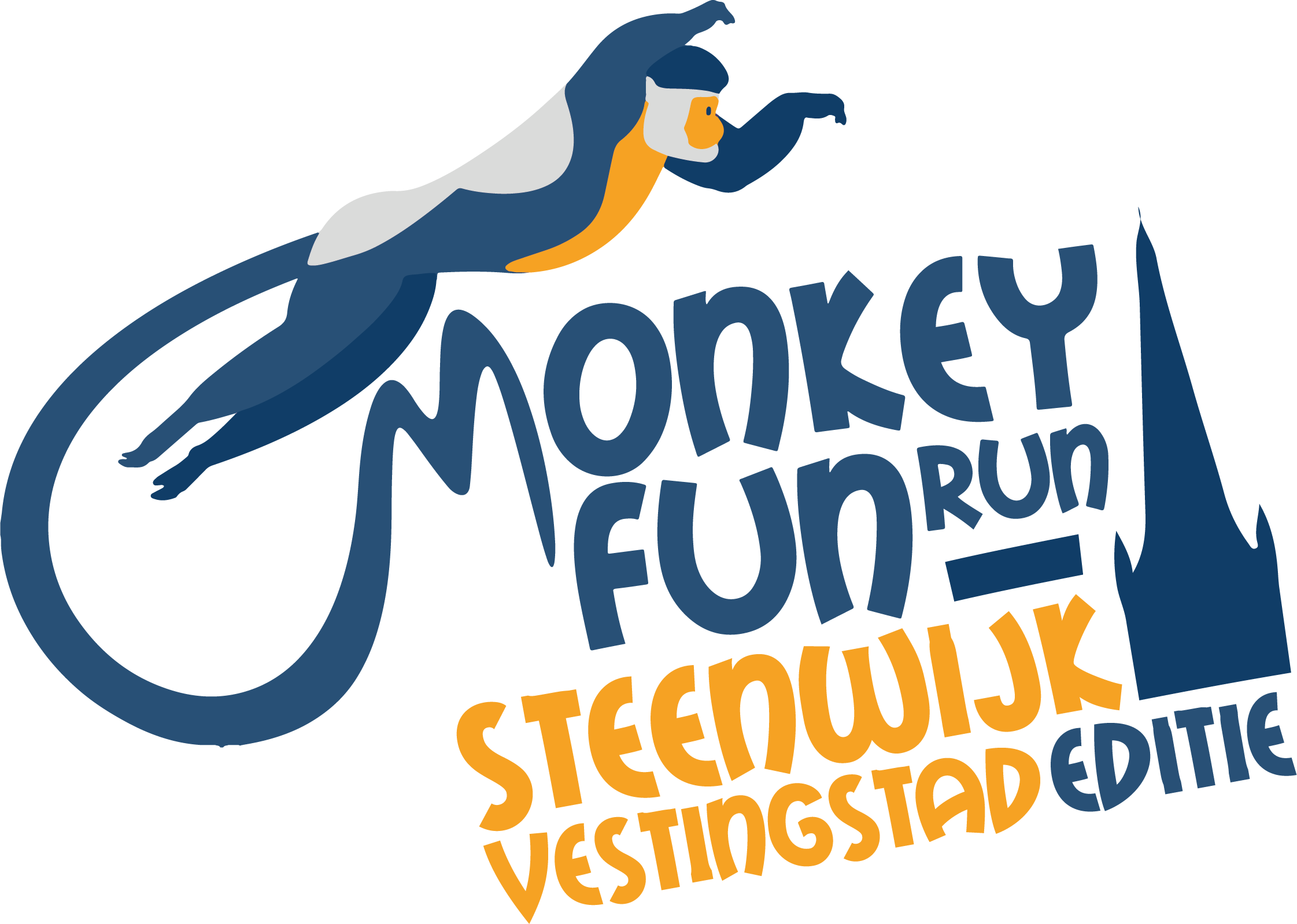 Monkey Fun Run Steenwijk Vestingstad Editie 300ppi