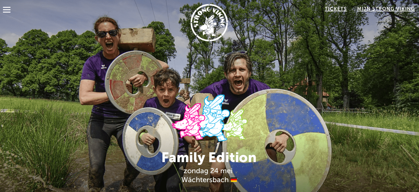 Strong Viking Family