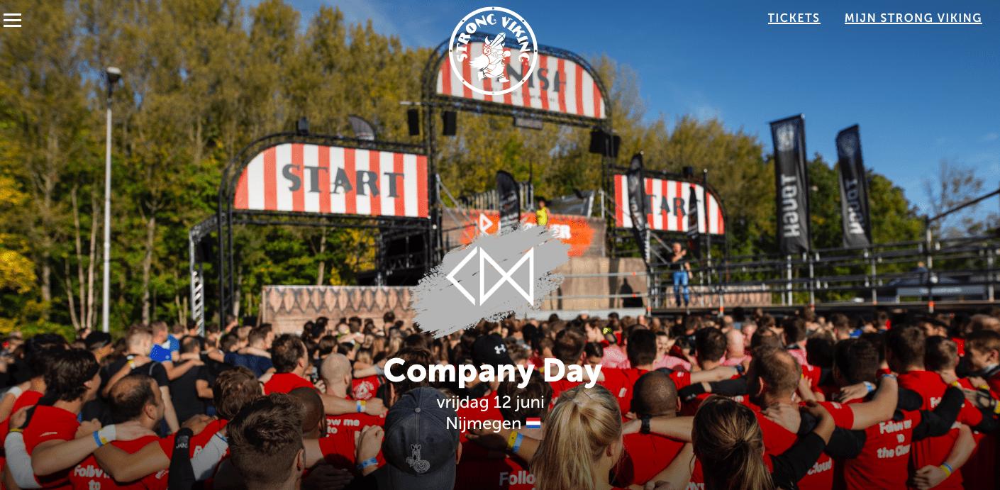 Strong Viking Company Day