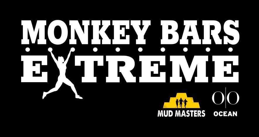 Monkey Bars Extreme wit op zwart