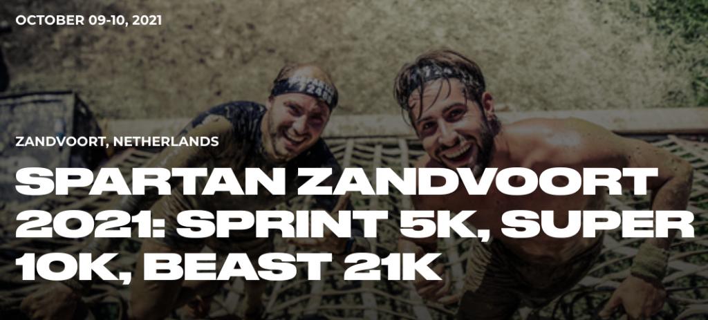 Spartan Race Zandvoort